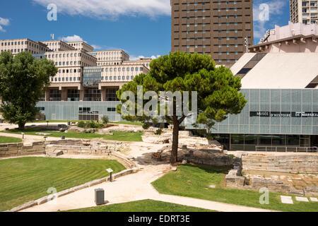 Musee d'Histoire de Marseille (Marseille History Museum), Bouches du Rhone, PACA, France - Stock Photo
