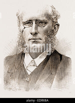 and in 1881 the THE REV. HENRY WACE, D.D., - Stock Photo