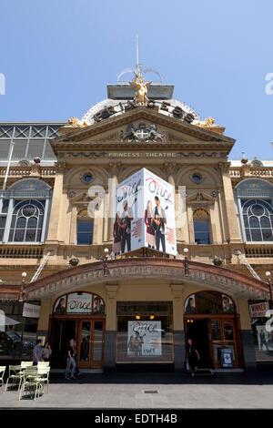 Princess theatre in Melbourne, Australia - Stock Photo