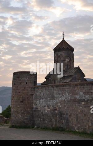 Ancient Monastery Tatev in Armenia - Stock Photo