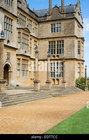 Exterior of Montacute House in Somerset, England, UK - Stock Photo