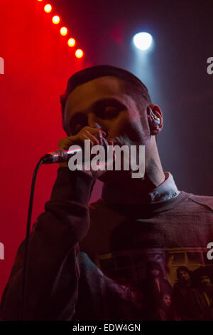 The Italian rapper Ghemon performed live at Hiroshima Mon Amour. His latest album is entitled 'OrchiIdee'. © Elena - Stock Photo
