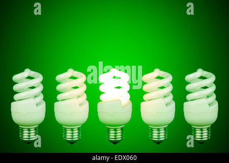 ... Low energy light bulbs with centre light glowing - Stock Photo & Low energy light bulbs with centre light glowing Stock Photo ... azcodes.com