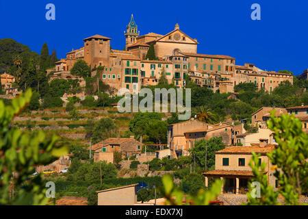 Mallorca, Valldemosa, Majorca, Serra de Tramuntana, World Heritage Site, Balearic Islands / Valldemossa - Stock Photo