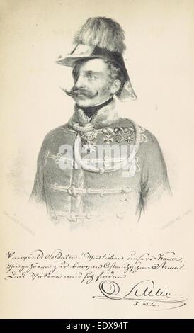 KOCZICZKA(1850) p008 K&K Kavalerie-General Franz Schlik zu Bassano und WeiC39Fkirchen - Stock Photo