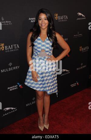 Gina Rodriquez at arrivals for BAFTA LA 2015 Awards Season Tea Party, Four Seasons Los Angeles At Beverly Hills, - Stock Photo