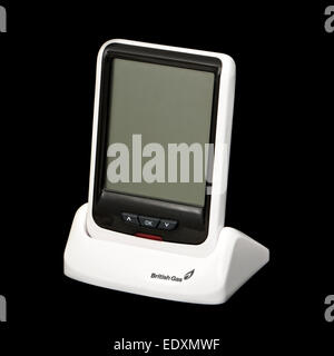 British Gas smart meter (real-time electricity monitor) - Stock Photo