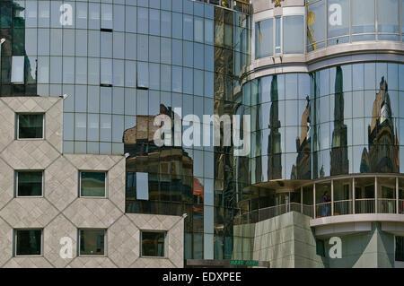 Modern Architecture Vienna modern architecture, vienna, austria stock photo, royalty free
