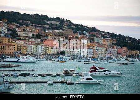 porto santo stefano, argentario, tuscany, italy, europe - Stock Photo
