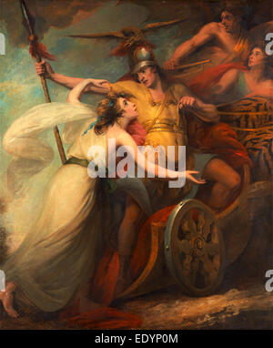 The Triumph of Mercy,' from Collins' 'Ode To Mercy', William Artaud, 1763-1823, British - Stock Photo