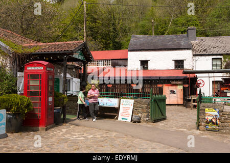 UK, Wales, Swansea, Parkmill, Gower Heritage Centre - Stock Photo