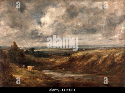 Hampstead Heath, John Constable, 1776-1837, British - Stock Photo