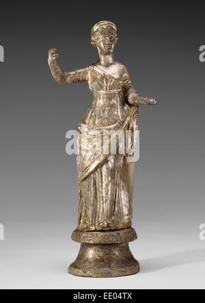 Statuette of Venus; Unknown; Roman Empire; 2nd - 3rd century; Silver - Stock Photo