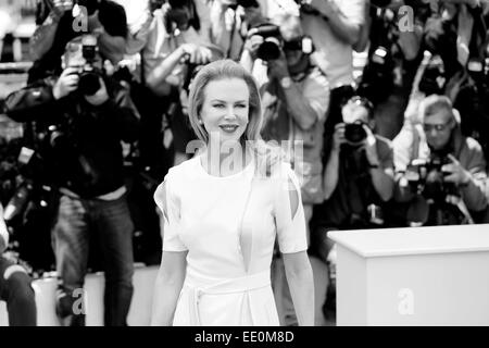 CANNES, FRANCE - MAY 14: Nicole Kidman attends the 'Grace of Monaco' photo-call at the 67th Cannes Film Festival - Stock Photo