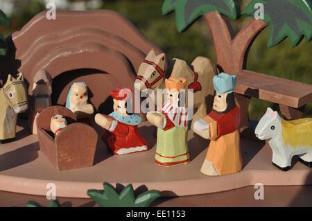 A Belen (Nativity Scene), in Spain - Stock Photo