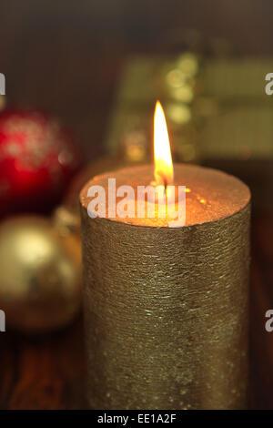 Weihnachtsstimmung, Kerzenlicht - Stock Photo