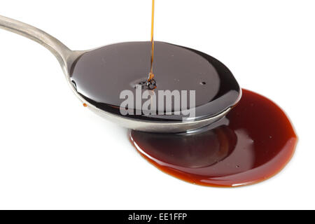Pomegranate syrup - Stock Photo