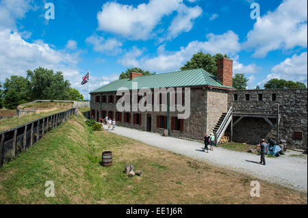 Old Fort Erie on the Niagara River, Ontario, Canada, North America - Stock Photo