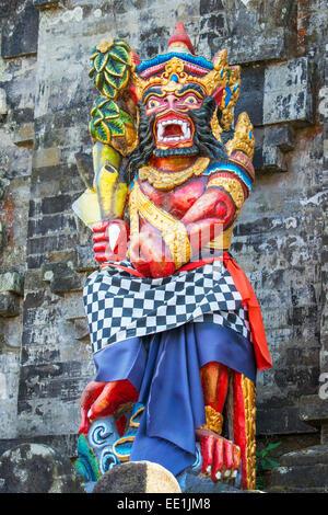 Statue, Pura Ulun Danu Batur temple, Bali, Indonesia, Southeast Asia, Asia - Stock Photo