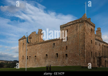 Linlithgow Palace, built in the 15th century, birthplace of Mary Queen of Scots in 1542, Linlithgow, West Lothian, - Stock Photo