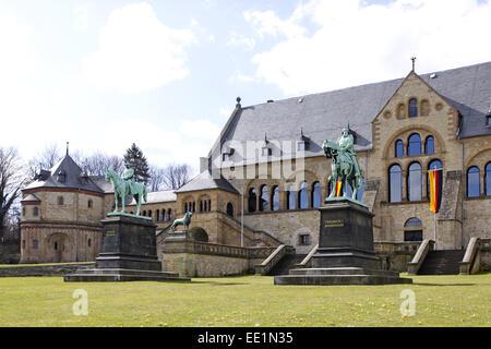 Altstadt, Architektur, Bauwerk, Bauwerke, Deutschland, Fassade, Fassaden, Gebaeude, Goslar, Kaiser, Kaiserpfalz, - Stock Photo