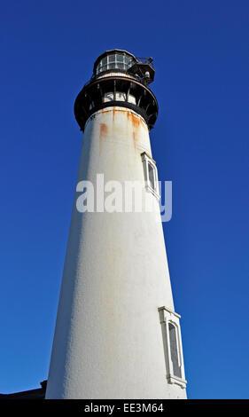 Pigeon Point lighthouse, California, USA, - Stock Photo