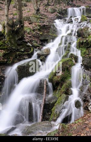 wasserfall beautiful waterfall germany - Stock Photo