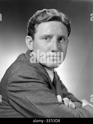 Spencer Tracy, Publicity Portrait, on-set of the Film, 'Big City', 1937 - Stock Photo