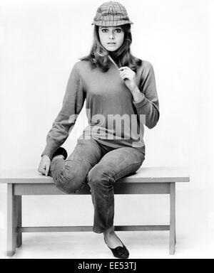 Eva Renzi, Publicity Portrait for the Film, 'Funeral in Berlin', 1966 - Stock Photo