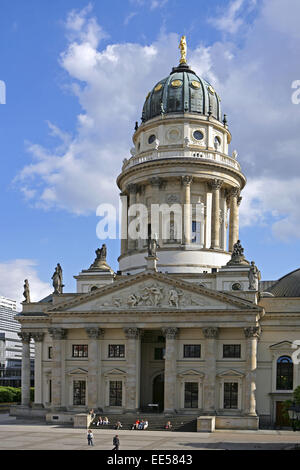 Deutschland, Berlin, Europa, Hauptstadt, Stadt, Sehenswuerdigkeit, Franzoesischer Dom, Gendarmenmarkt, , Architektur, - Stock Photo