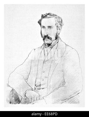 Sir George Grey 14 April 1812 19 September 1898  soldier explorer Governor of South Australia New Zealand writer - Stock Photo