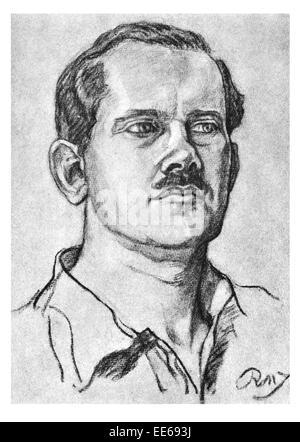 Young Lawrence of Arabia Arab Revolt Ottoman Turkish portrait Arabian - Stock Photo