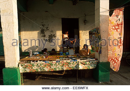 Mexcaltitan, A stall on the village square - Stock Photo