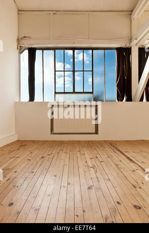 wide open space, detail window - Stock Photo