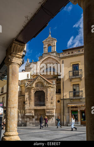Church of St Martin, Salamanca, Spain - Stock Photo