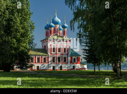 Church of Dimitri on the Blood, Uglich, Russia - Stock Photo