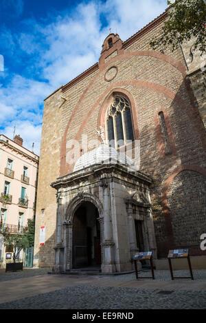 Cathedral Basilica of Saint John the Baptist, Perpignan, Pyrenees-Orientales, France - Stock Photo