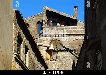 Casertavecchia, Italy. Casertavecchia is a locality near Caserta,it  is an Italian medieval village. - Stock Photo