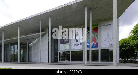 Pinakothek der Moderne, München, Oberbayern, Bayern, Deutschland, Europa, a modern art museum, Munich, Upper Bavaria, - Stock Photo