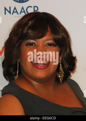 Beverly Hills, CA. 17th Jan, 2015. Chandra Wilson at arrivals for The 46th NAACP Image Awards Nominees' Luncheon, - Stock Photo