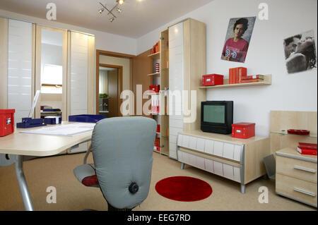 Kinderzimmer Jugendzimmer Wohnen Innenaufnahme Inneneinrichtung