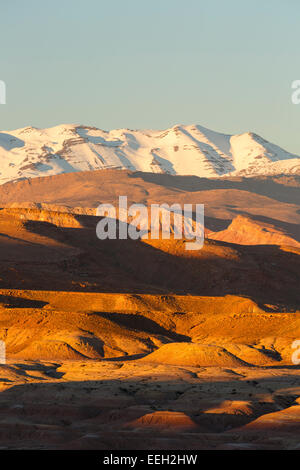 Mountains. Ait Ben Haddou. Morocco. North Africa. Africa - Stock Photo