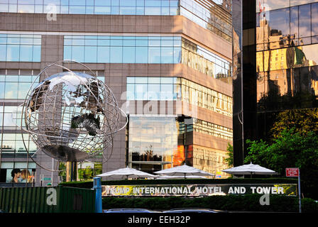 Columbus Circle , NYC - Stock Photo