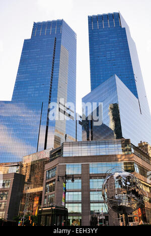 Columbus Circle , NYC - Stock Photo
