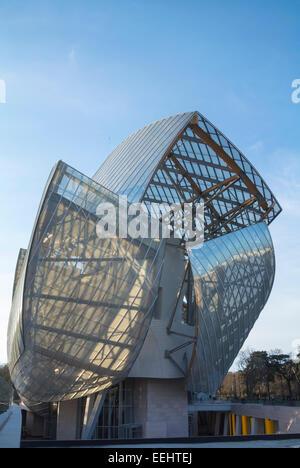 fondation louis vuitton Paris France Stock Photo