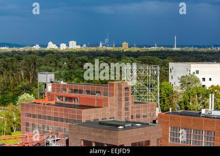 Zeche Zollverein,Red Dot design museum UNESCO world heritage site, Essen, Germany - Stock Photo