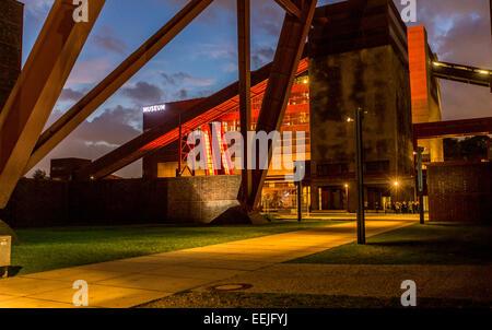 Zeche Zollverein, UNESCO world heritage site, former, the biggest coal mine in the world, Essen, Germany - Stock Photo