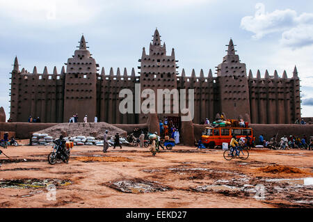 Great mosque of Djenne. Mali - Stock Photo
