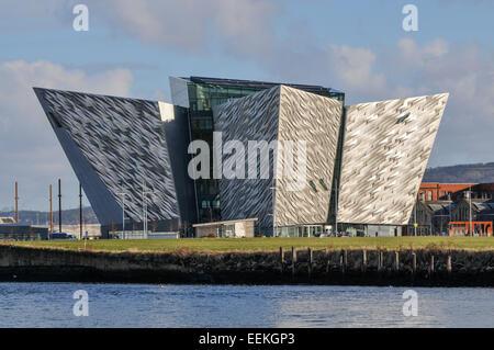 Titanic Belfast - Stock Photo