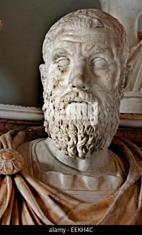 Macrinus ( Marcus Opellius Severus Macrinus Augustus 165 –  218 Roman Emperor from 217 to 218.  Rome Capitoline - Stock Photo